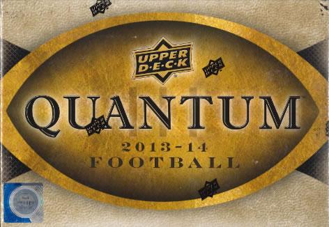 2013/2014 UPPER DECK QUANTUM FOOTBALL