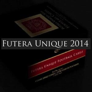 2014 FUTERA UNIQUE FOOTBALL 高級版サッカーカード BOX