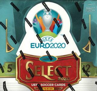 トレーディングカード・テレカ, トレーディングカード PANINI 2020 SELECT UEFA EURO SOCCER HOBBY BOX