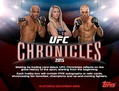 (予約)2015 TOPPS UFC CHRONICLES BOX(送料無料) (12月上旬発売予定)