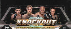 2016 TOPPS UFC KNOCKOUT (送料無料)