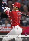 2018 TOPPS NOW KANJI EDITION #136J 大谷翔平 4TH PLAYER IN MODERN ERA WITH 4+ HRS&25+KS IN THE SAME MONTH