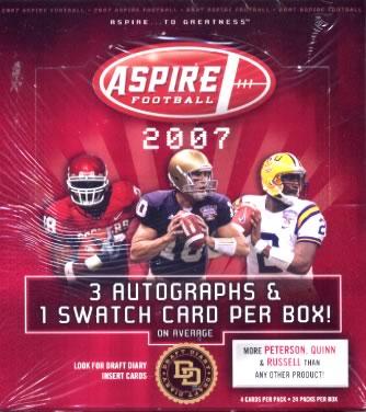 NFL 2007 SAGE ASPIRE FOOTBALL
