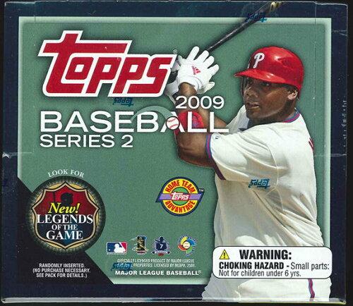 MLB 2009 TOPPS 2 HTA-JUMBO