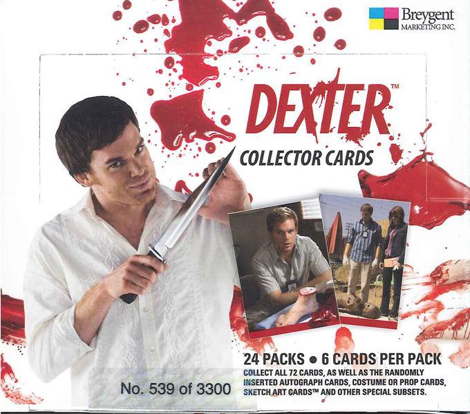 Sale ■ ■ DEXTER ( Dexter-COP killer ) trading cards