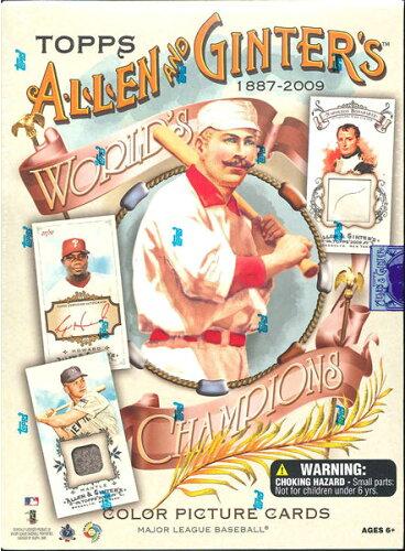 MLB 2009 TOPPS ALLEN & GINTER