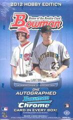 MLB 2012 BOWMAN HOBBY トレーディングカード