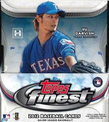MLB 2012 TOPPS FINEST MLB公式ベースボールカード BOX