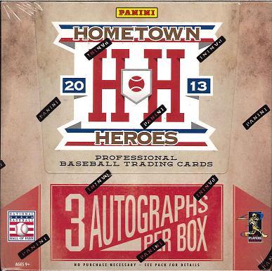 トレーディングカード・テレカ, トレーディングカード 2013 PANINI HOMETOWN HEROES BASEBALL