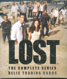 LOST THE COMPLETE SERIES RELIC TRADING CARDS PACK