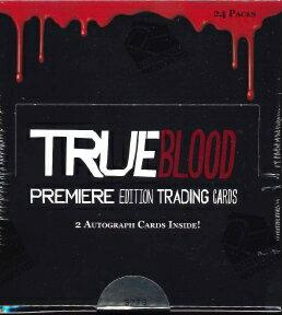 True blood TRUE BLOOD PREMIERE EDITION trading card BOX