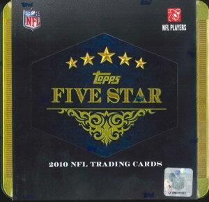 NFL 2010 TOPPS FIVE STAR