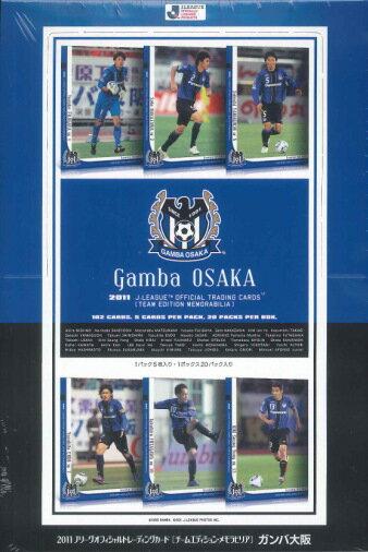 ■2011 sale ■ J League card team edition memo rabbi rear Gamba Osaka