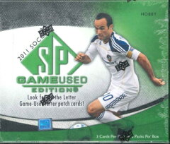 2011 UPPER DECK SP GAME-USED SOCCER トレーディングカード