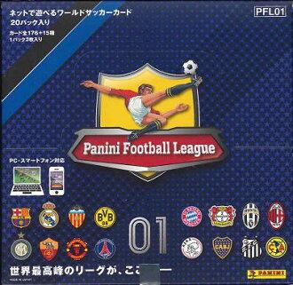 PANINI FOOTBALL LEAGUE 01 BOX