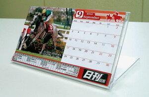 2012年中央競馬開催日程入り2012日刊競馬カレンダー(卓上タイプ・ケースあり)