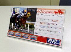 南関東公営競馬開催日程入り2012年度南関東版日刊競馬卓上カレンダー(ケースあり)