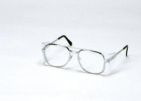 保護メガネSS-23NPCNIKKO太めのメタル枠使用保護眼鏡【研磨作業・軽作業・液体飛沫・粉塵現場】