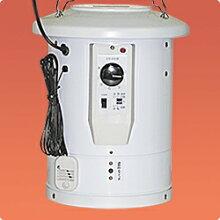 吊り下げ式電気温風器