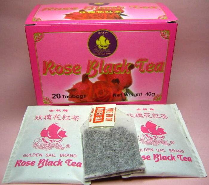 薔薇紅茶ティーバッグ(2g×20包) ローズティー