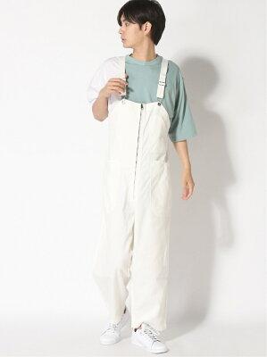 [Rakuten Fashion](M)M/Nデニムオーバーオール2 niko and... ニコアンド パンツ/ジーンズ サロペット/オールインワン ネイビー ホワイト【送料無料】・・・ 画像1