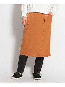 [Rakuten Fashion]【SALE/79%OFF】(W)サテンSK&ポンチPT niko and... ニコアンド スカート スカートその他 ブラウン ネイビー ブルー【RBA_E】
