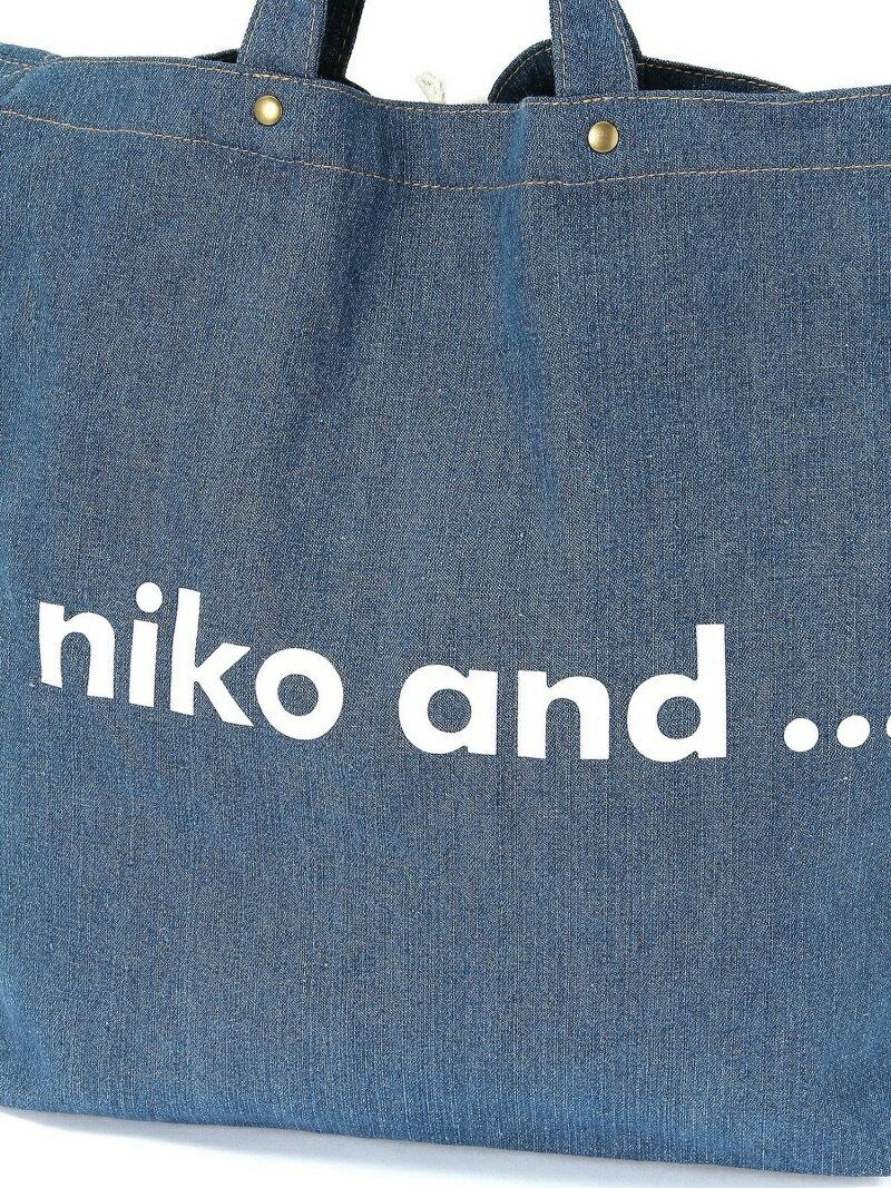 [Rakuten BRAND AVENUE]ORニコロゴトートBAG 2W niko and... ニコアンド バッグ