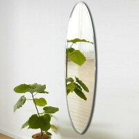 ノンフレームミラー鏡美しいおしゃれ上品綺麗かわいい優雅豪華寝室洗面リビング玄関ウォールミラーSUC-013