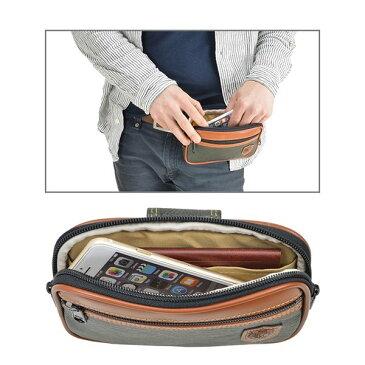 ベルトポーチ スマホポーチ メンズ ウエストポーチ 日本製 豊岡製鞄 薄型 スマホケース 携帯電話 BLAZER CLUB #25875 h-lb25875