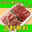 【送料無料】安全安心九州産お試し焼肉セット!牛肉、豚肉、鶏肉全部入ったセット/BBQ/あす楽/...
