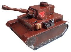 万世戦車《ペーパークラフト》