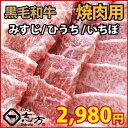 黒毛和牛 みすじ ひうち いちぼ 500g ギフトに最適 焼肉 バーベキュー BBQ