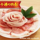 今週の特売!冷凍◆国産豚ロース肉うすぎり300g