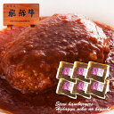 飛騨牛煮込みハンバーグ 240g{固形(120g)、ソース(