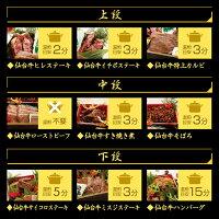 仙台牛お肉のおせちのお召し上がり方