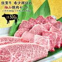 佐賀牛 最高等級 A5等級 希少部位焼肉セット500g 黒毛...