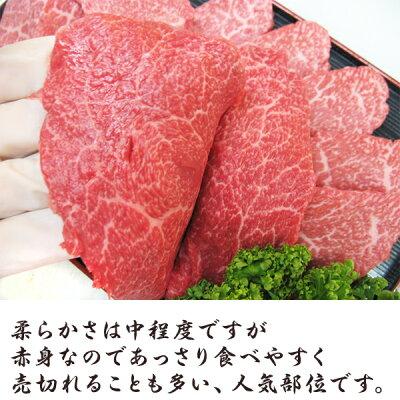 九州産黒毛和牛(鹿児島/佐賀/長崎)牛肉国産牛和牛A4/A5ランク5等級焼き肉BBQバーベキュー(上)赤身厚切り500g