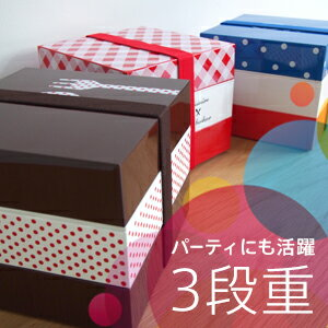 【初来店の方に★次回使える500円クーポン配布中】デザインオードブル 3段重