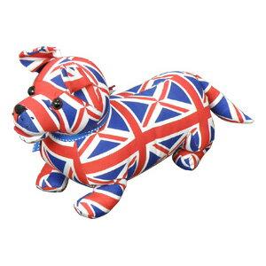 イギリス・ドラデザイン企画アニマルドアストッパーインテリアとしてもオススメのユニオンジャ...