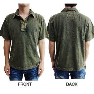 ポロシャツ-前後
