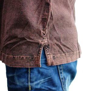 ポロシャツ-スリット