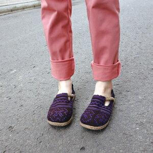 モン族サボ−カラバリ【アジアンファッション】【アジアン雑貨】【アジアンテイスト】【エスニック】【サボサンダル】【スリッパ】【靴】【シューズ】【サボ】【サンダル】【レディース】【メンズ】