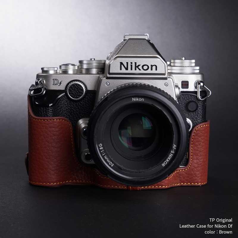 バッグ・ケース, 一眼レフ用カメラケース TP Original Leather Camera Body Case for Nikon Df Brown EZ Series TB06DF-BR