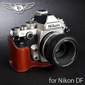 『Nikon DF用レザーカメラケース』TP/ティーピー Leather Camera Body Case レザーカメラボディ...