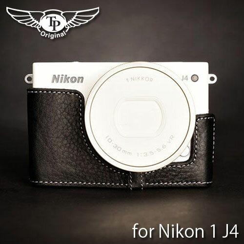 バッグ・ケース, 一眼レフ用カメラケース TP Original Leather Camera Body Case for Nikon 1 J4 1 J4 EZ Series Black()