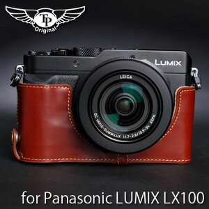 『Panasonic LUMIX LX100用レザーカメラケース』TP Original/ティーピー オリジナル Leather Ca...