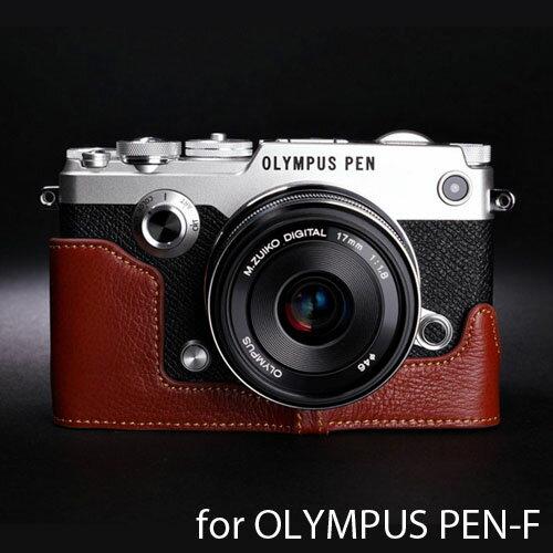 バッグ・ケース, 一眼レフ用カメラケース TP Original OLYMPUS PEN-F Brown TB06PENF-BR