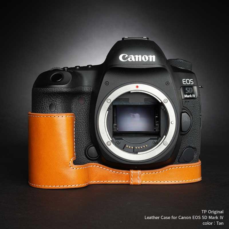 バッグ・ケース, 一眼レフ用カメラケース TP Original Leather Camera Body Case for Canon EOS 5D Mark IV Tan EZ Series TB06E5D4-WB