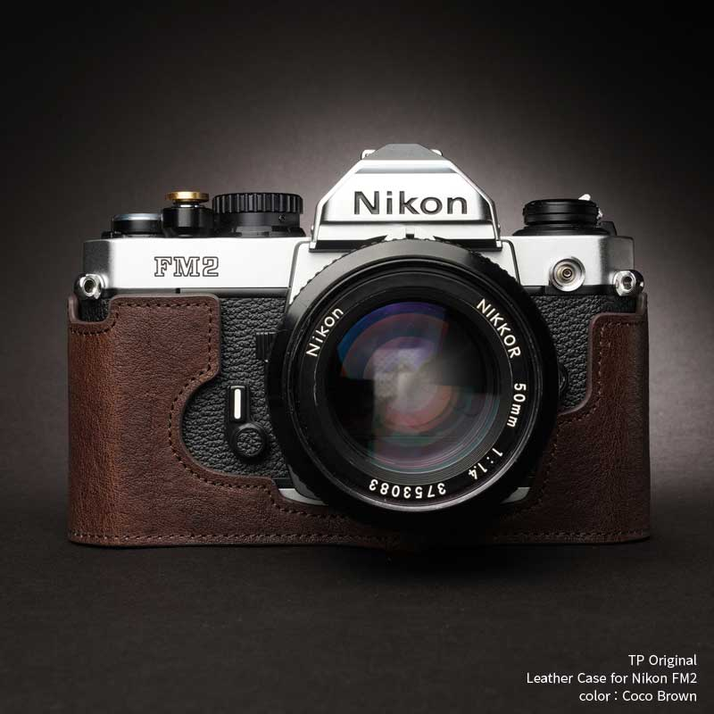 バッグ・ケース, 一眼レフ用カメラケース TP Original Nikon FM2 Coco Brown TB05FM2-CO