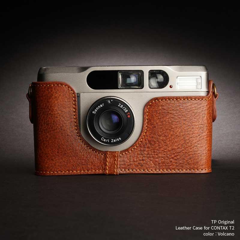 バッグ・ケース, コンパクトカメラ用カメラケース TP Original Leather Camera Body Case for Contax T2 Volcano Classic Series TB05T2-LB